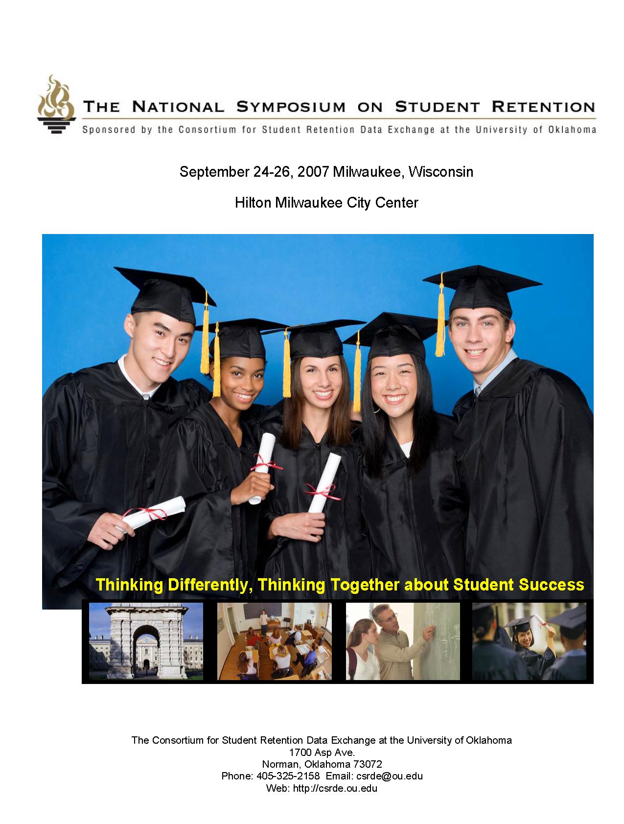 2007 NSSR Program Cover