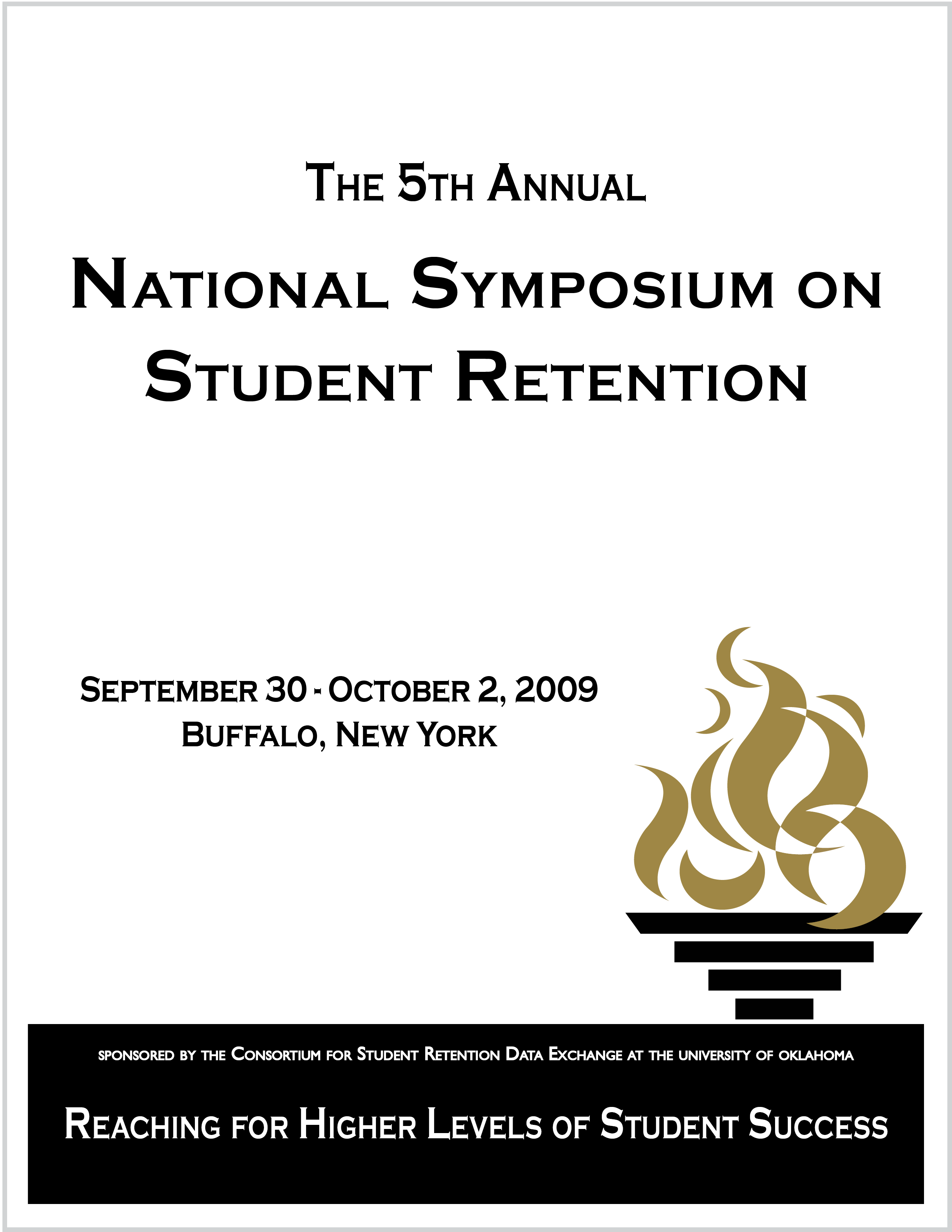Link to 2009 NSSR Program