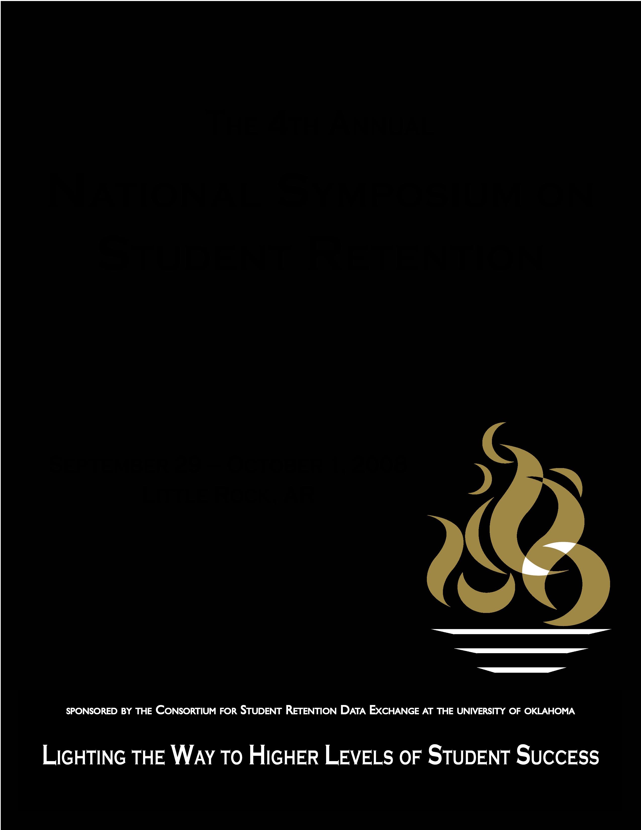 2008 NSSR Program Cover