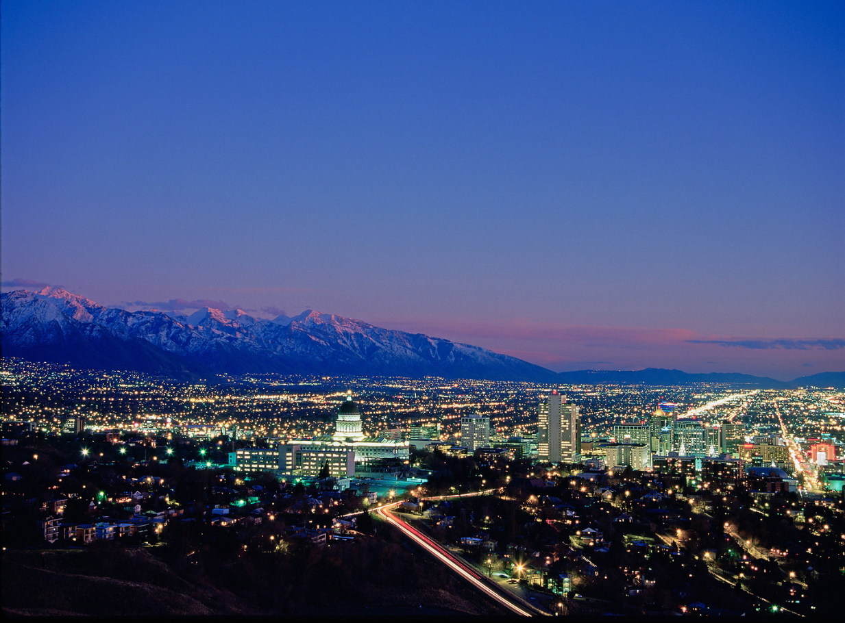 Aerial View of University of Utah. Photo Credit: Adam Barker