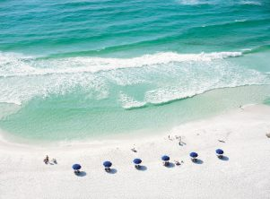 The beach at the Sandestin Resort