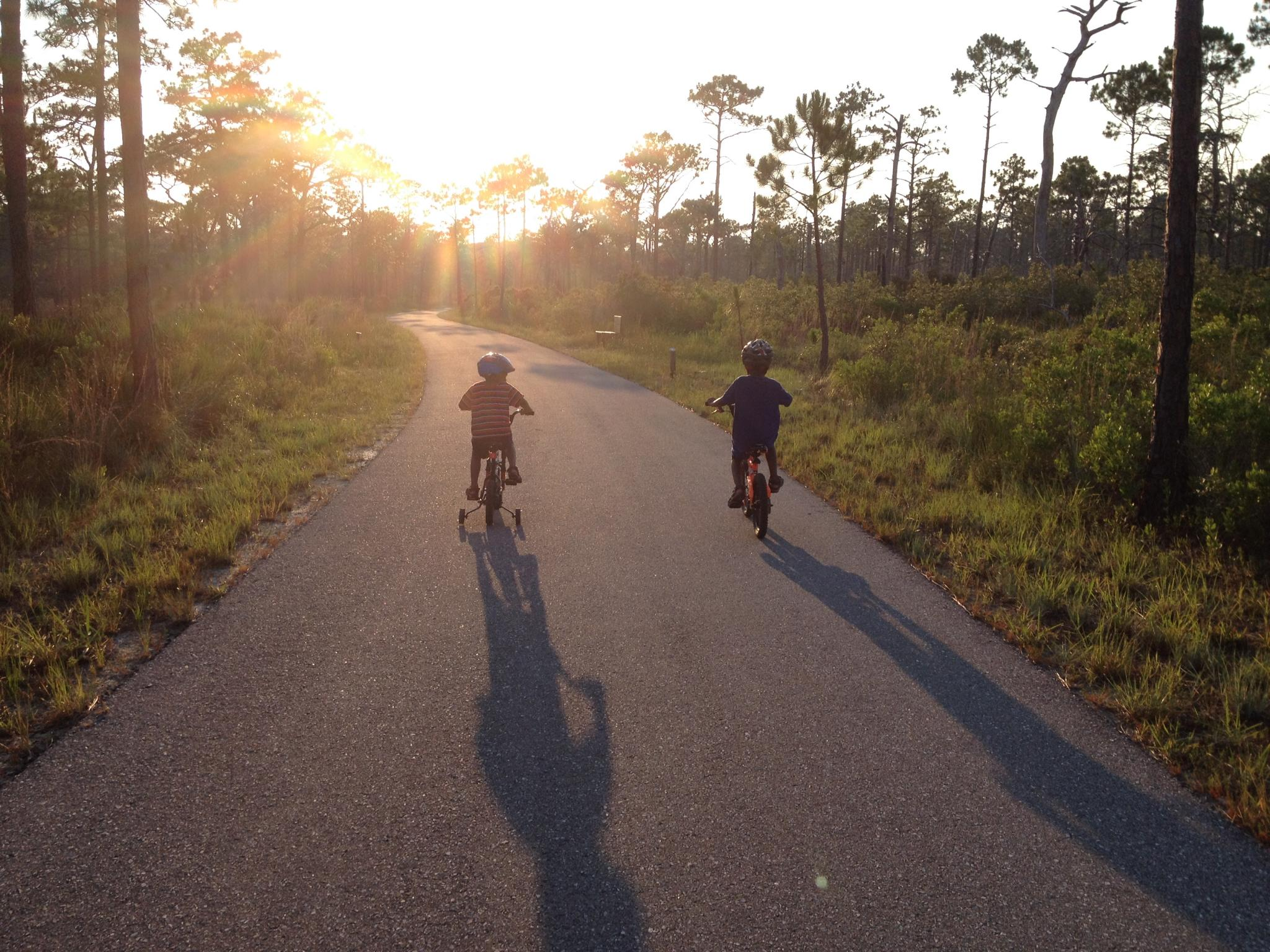 Bike Ride at Topsail, photo courtesy of Lashonda McNair